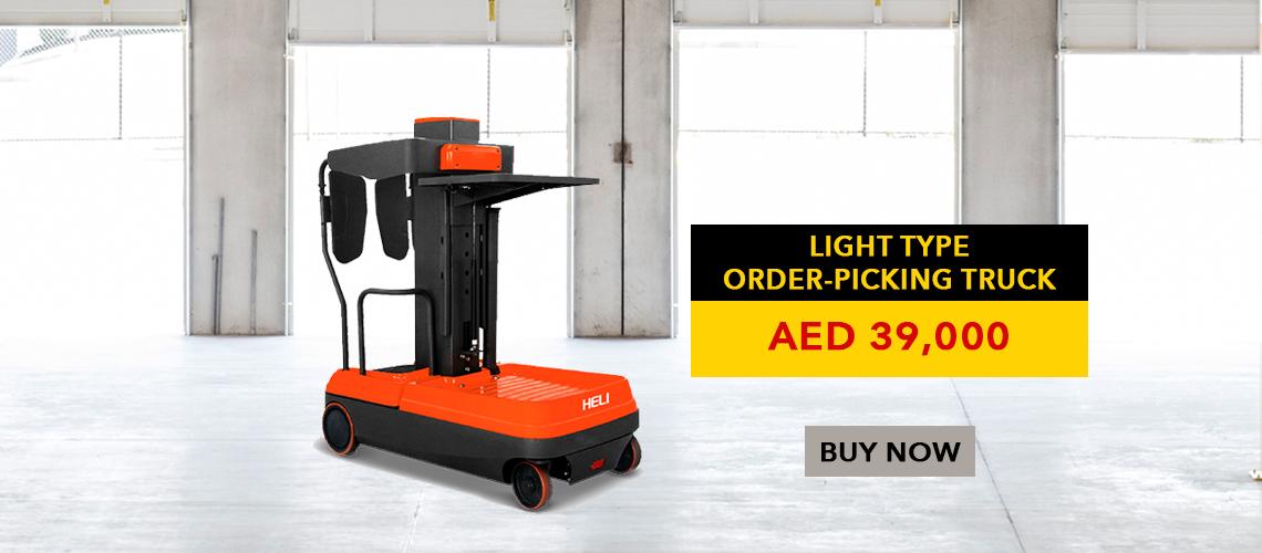light type order picking truck
