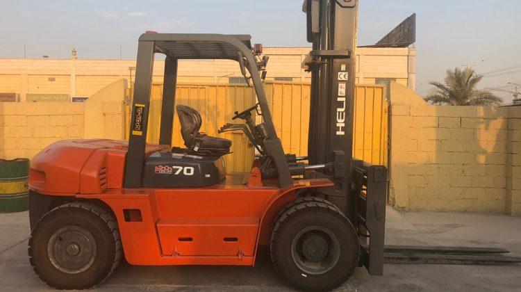 Used 7 Ton Diesel Forklift