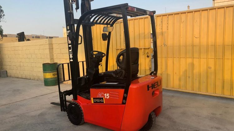 Used 1.5 Ton Electric Forklift