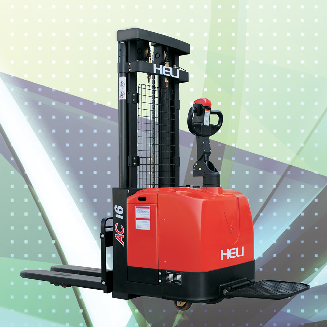 Electric Pallet Stacker Narrow Leg in Dubai, UAE