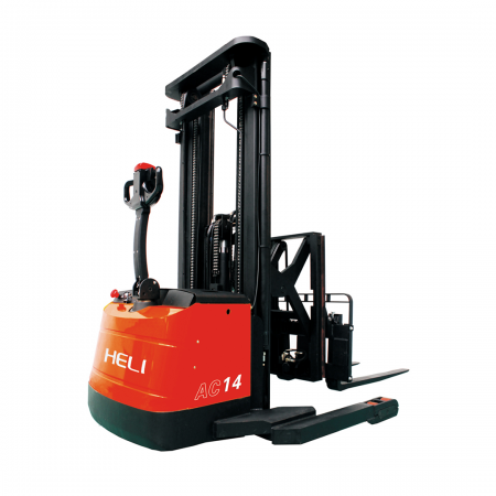 Heli Electric Pallet Stacker Scissor Type-Moon Walk