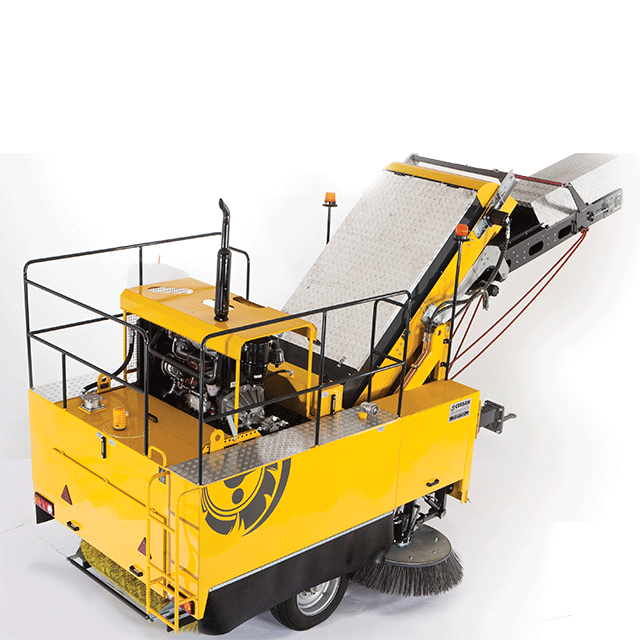 CEKSAN CAMELLO – LONG DISTANCE HEAVY DUTY MECHANICAL SWEEPING FOR HIGHWAYS in UAE