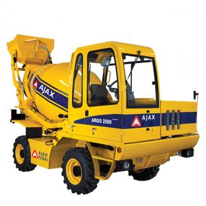 AJAX ARGO 2500 ACURA – COMPACT SELF LOADING CONCRETE MIXER in UAE
