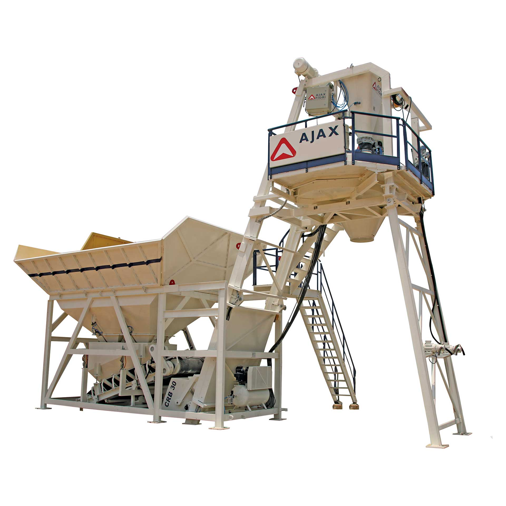 Ajax Compact Reduced Bin Batching Plant CRB 30