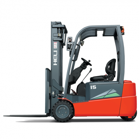 1 5 Ton 3 Wheel Electric Forklift for sale at Hala Equipment