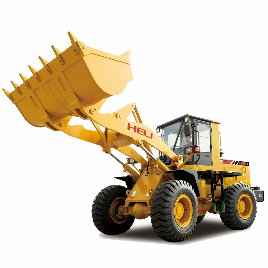 Halaheavy Heli Wheel Loader HL933 3.5ton