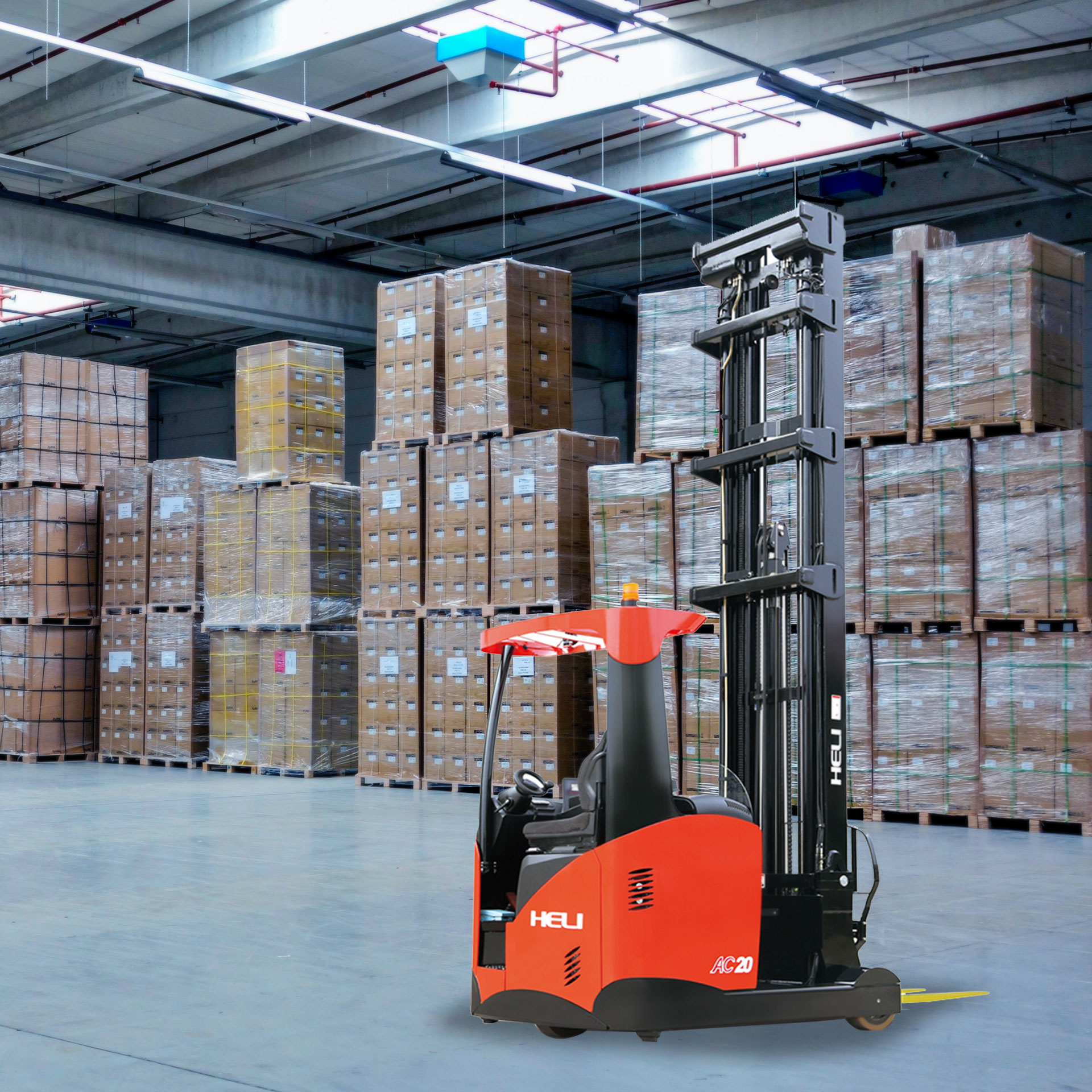 Hala Heavy Electric Forklifts UAE