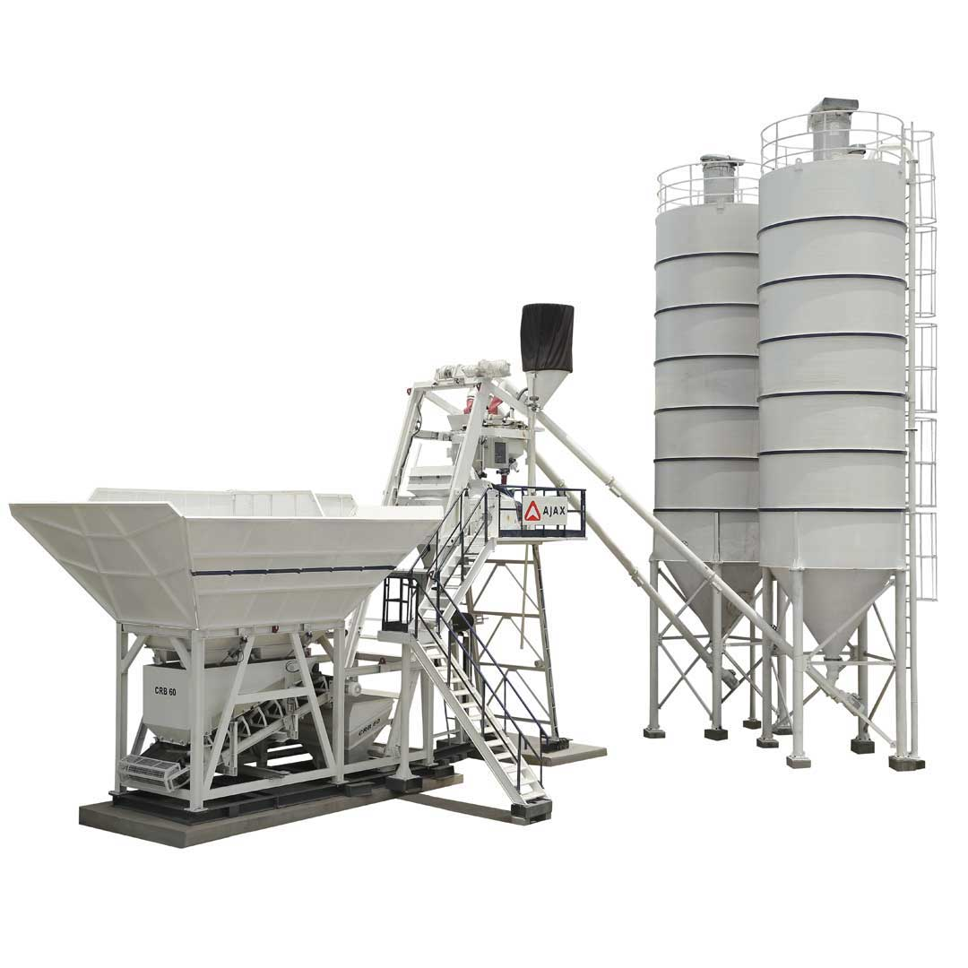Ajax Fiori CRB-60 Compact Reduce Bin Batching Plant