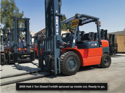 Sell Used Forklift in Dubai, UAE