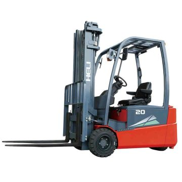 2-Ton-3-wheel-Electric-forklift