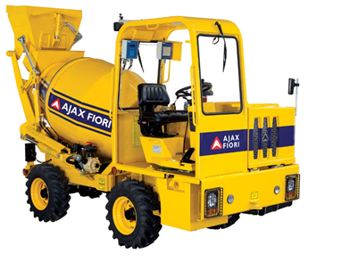 Ajax Self Loading Concrete Mixer