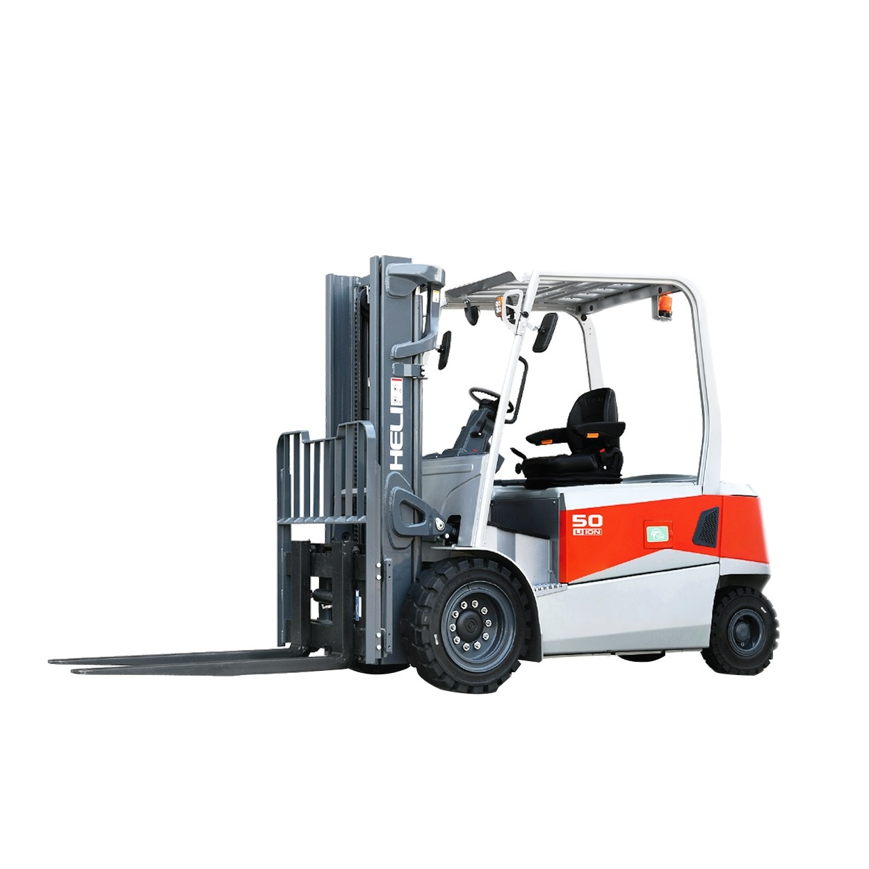 No.6 5 ton lithiumBattery forklift